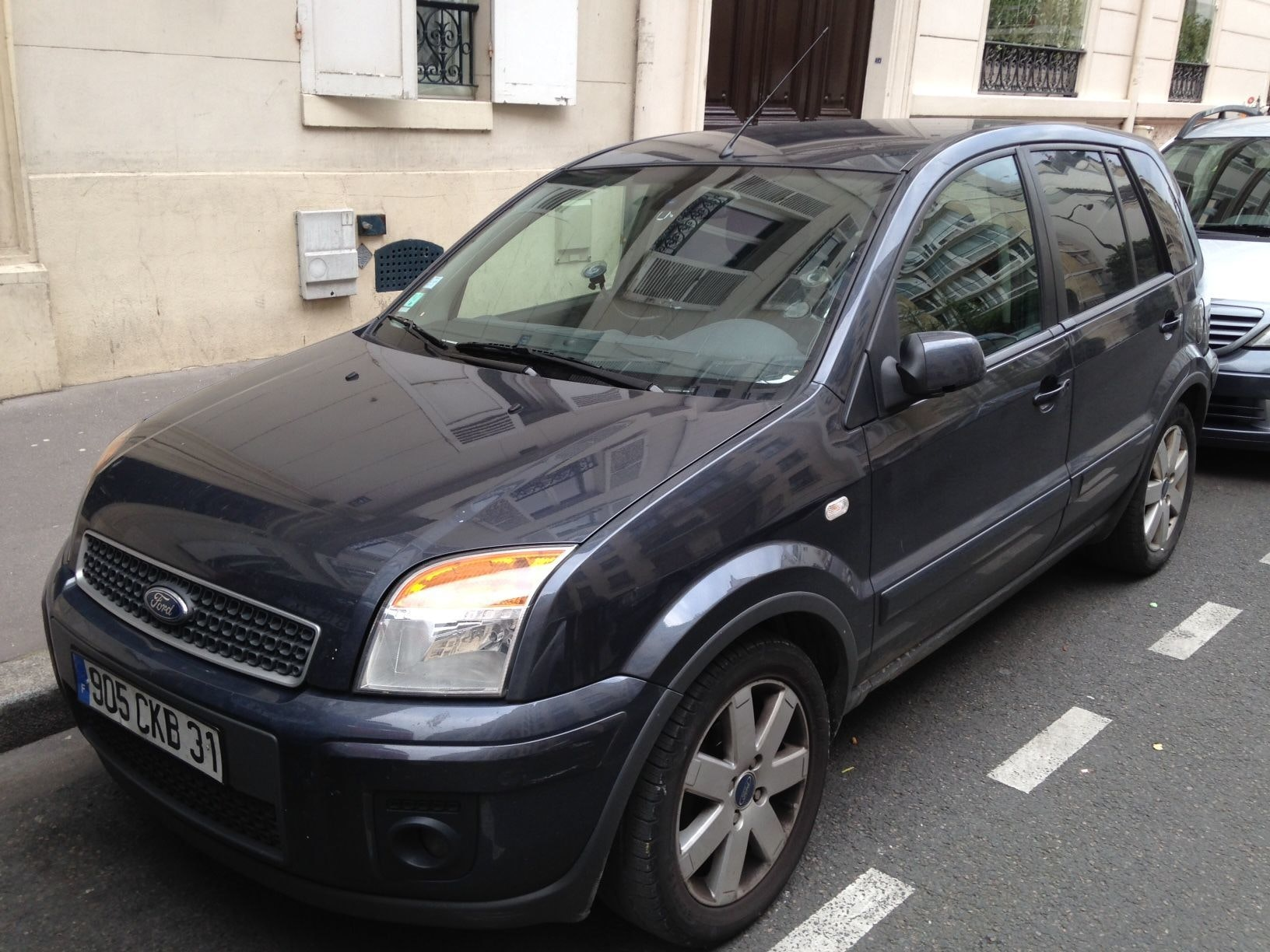 Ford Fusion 1400 tdci trend, 2010, Diesel