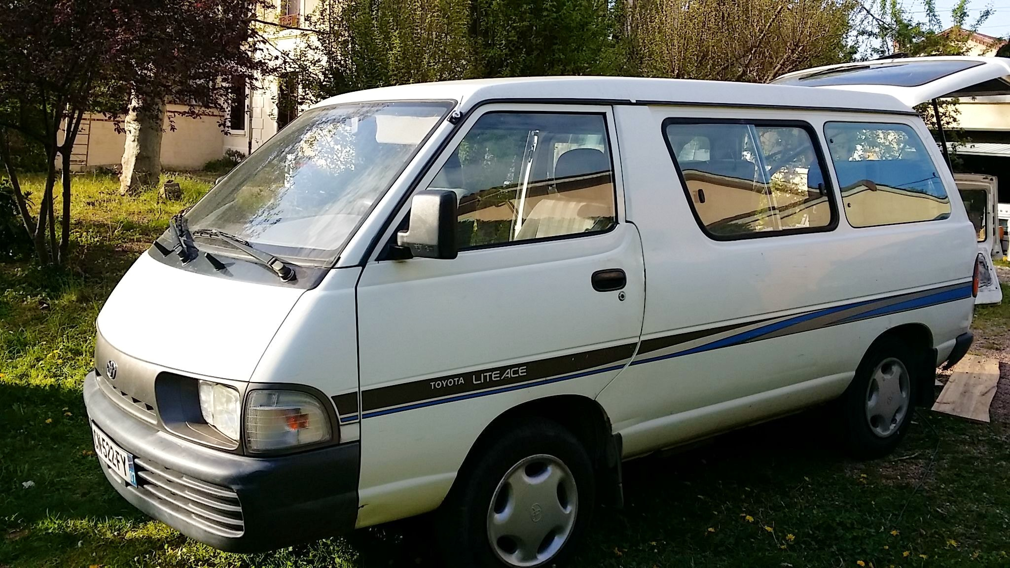 toyota lite ace, 1993, Diesel, 8 places