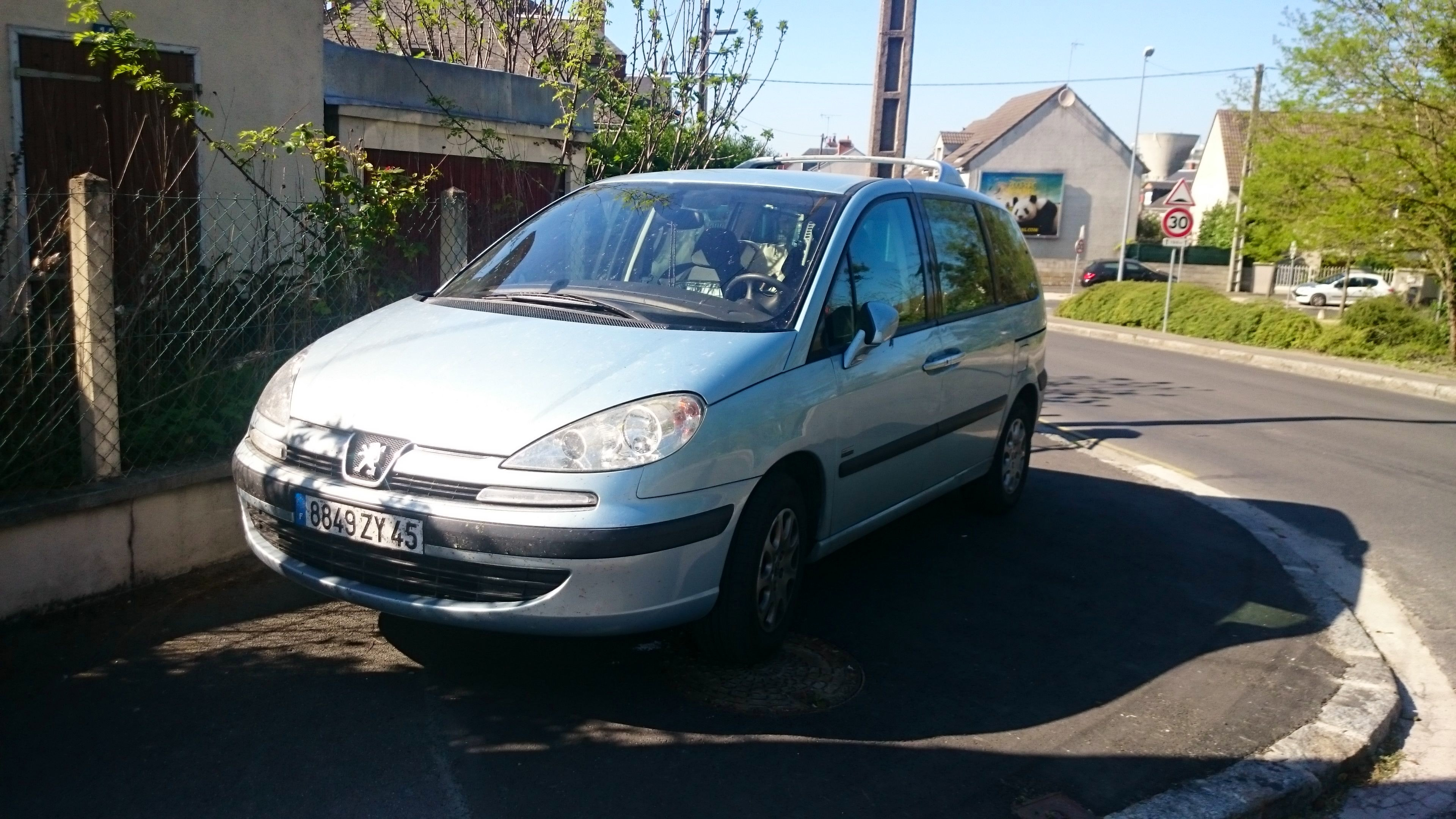 Peugeot  807 Hdi , 2005, Diesel, 7 places