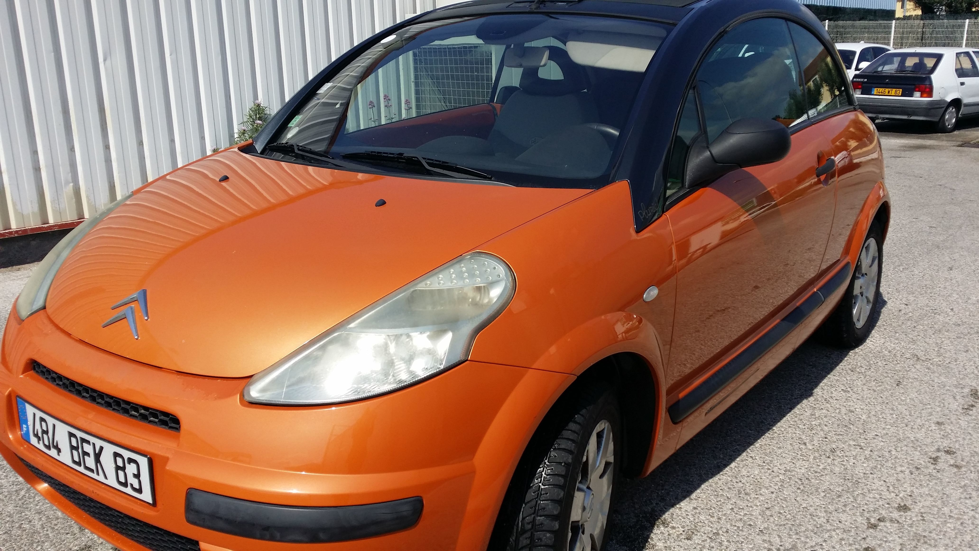 Citroen  C3 pluriel, 2003, Essence, automatique