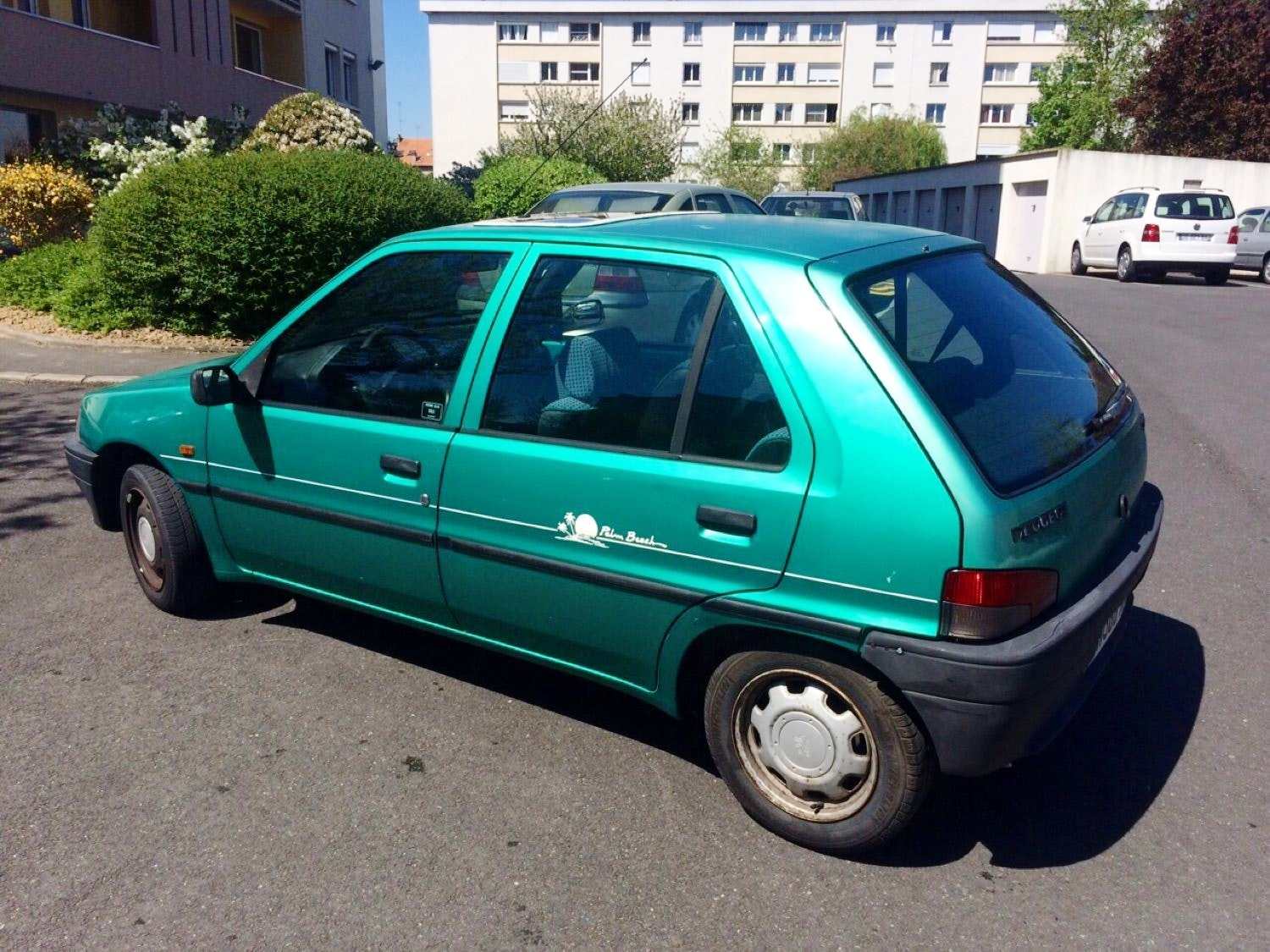 Peugeot 106 Palm Beach, 1995, Essence
