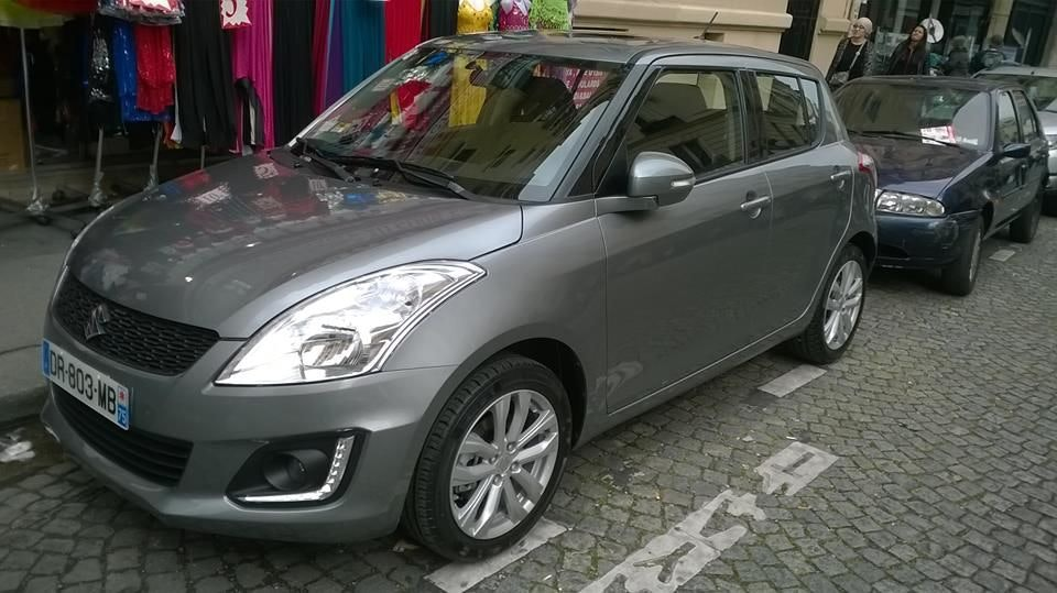 SUZUKI SWIFT toutes options, 2015, Essence
