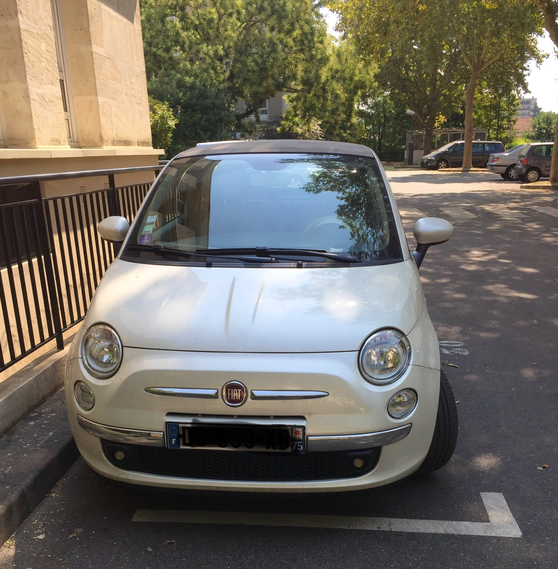 Fiat 500 C, 2014, Essence, automatique