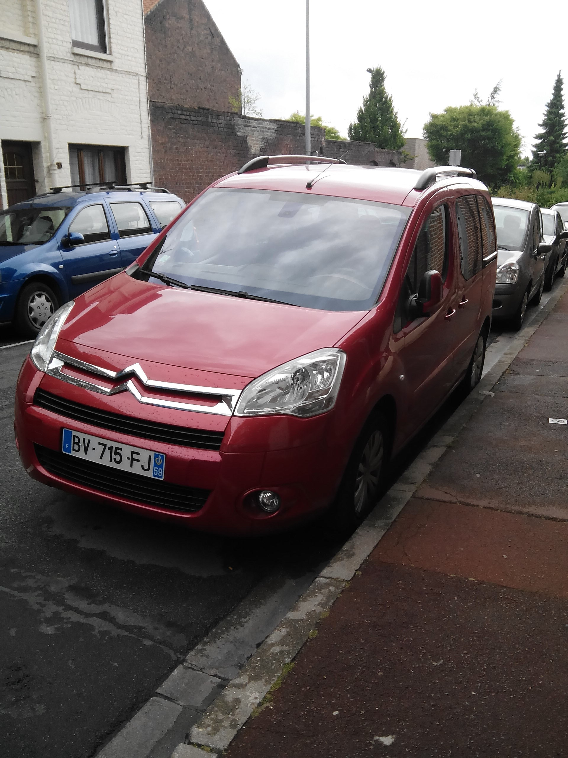 citroen  berlingo multispace ( 7 places ), 2011, Diesel, 7 places