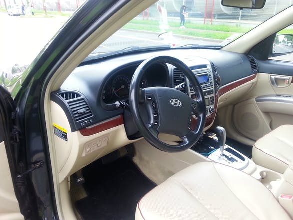 location hyundai santa fe 2007 diesel automatique 7 places. Black Bedroom Furniture Sets. Home Design Ideas