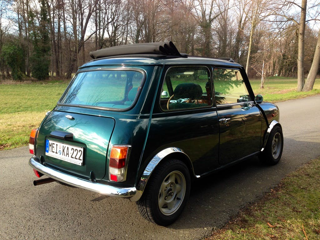 "Mini Rover 1300  ""British Open Edition"" Bj 1992, ""Oldtimer"" mit CD-Player"