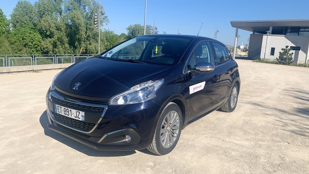 Peugeot 208 CHRU - HÔPITAL SAINT-JULIE, 2018, Essence
