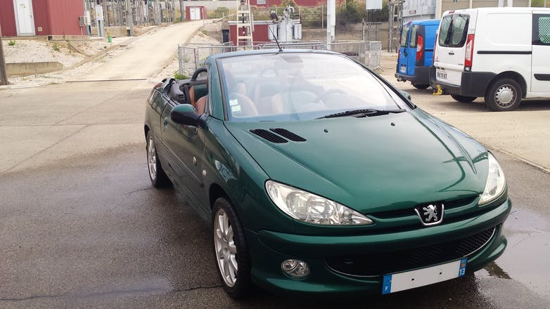 Location peugeot 206 cc 2003 port de bouc - Controle technique port de bouc ...