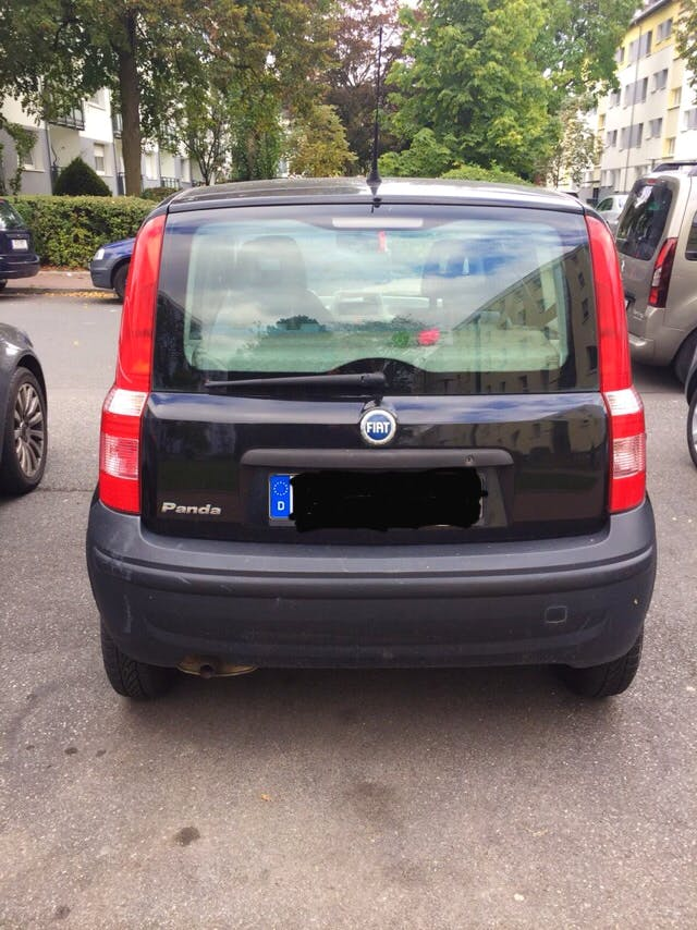 Fiat Panda mit CD-Player