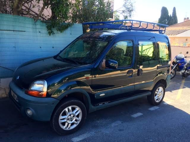 Renault Kangoo 4X4 commercial grand volume, 2003, Diesel
