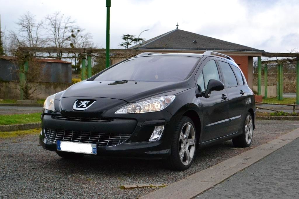 Peugoet 308 SW (7 places), 2010, Diesel, 7 places