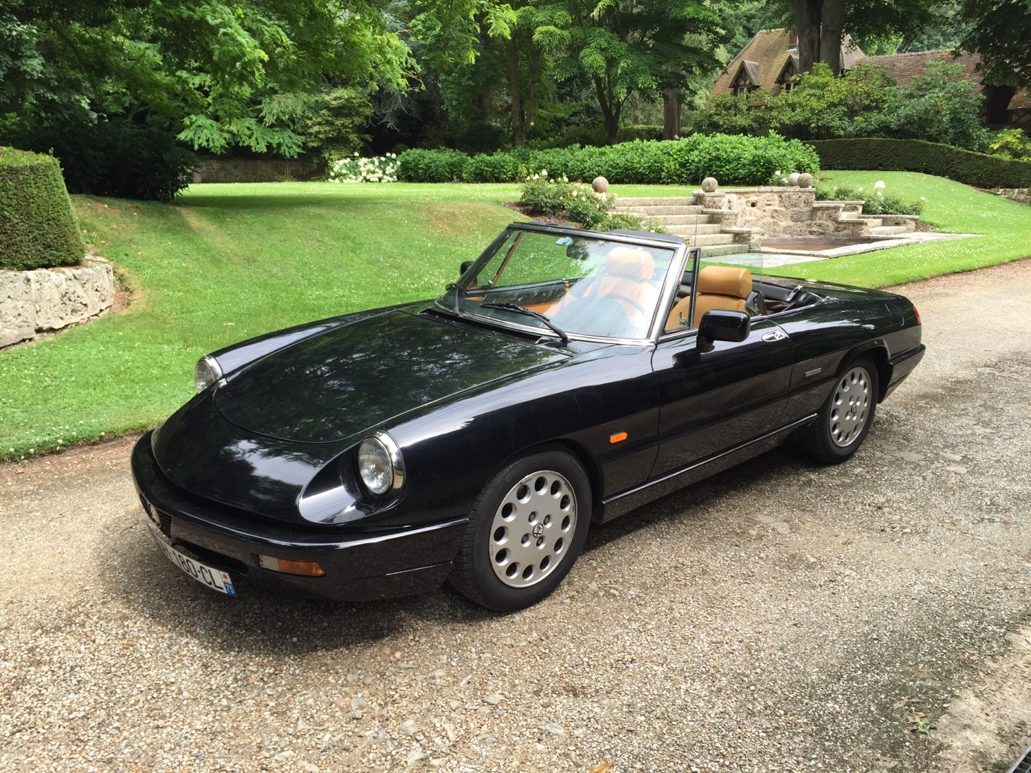 Alfa-Romeo Spider, 1990, Essence