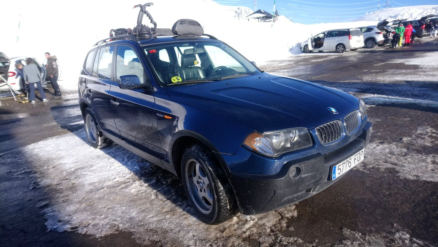 BMW X3 2.0D con Entrada de Audio/iPod