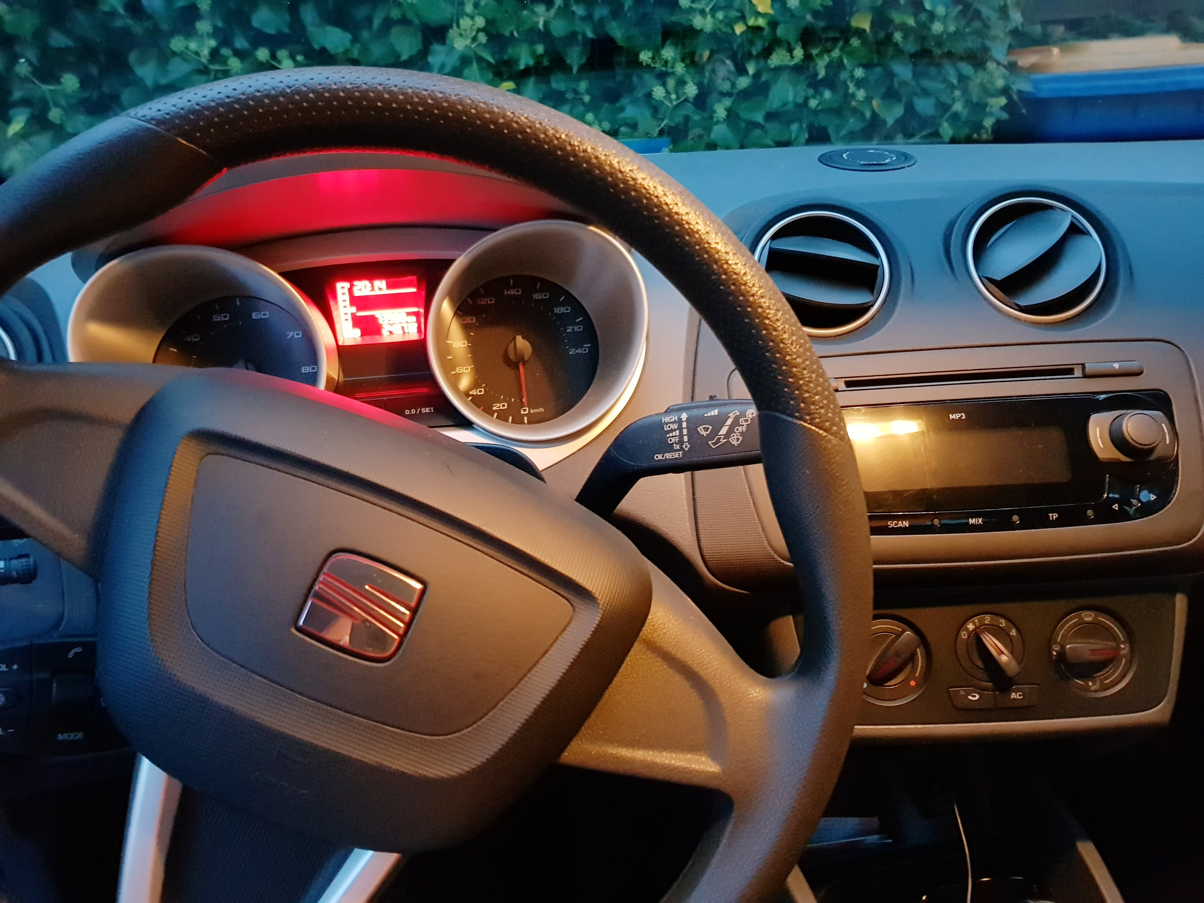 Seat Ibiza mit CD-Player