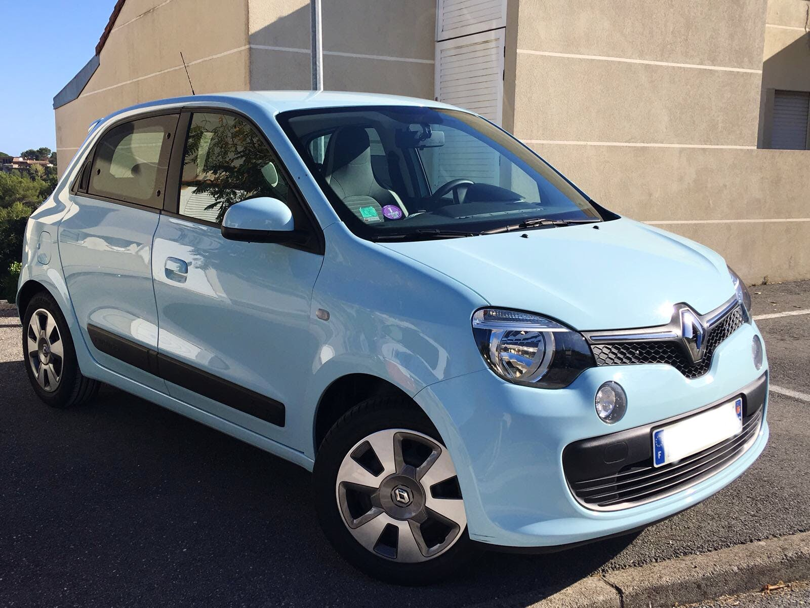 Renault Twingo Gare d'Antibes Port Vauban Fort Carré, 2015, Essence