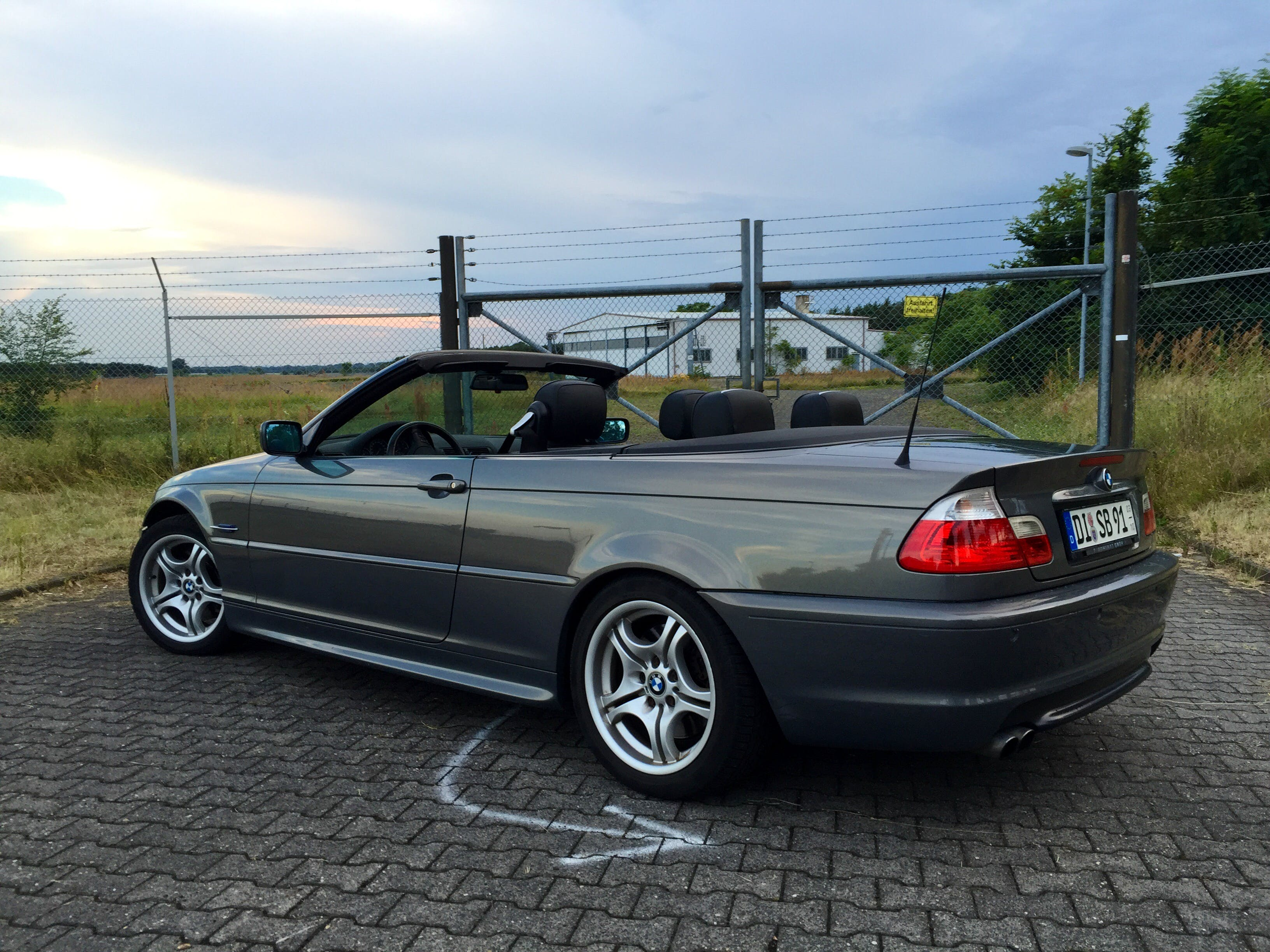 BMW E46 330 CI mit CD-Player