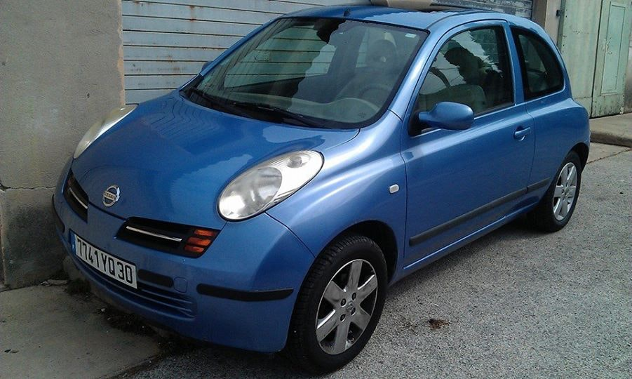Nissan micra, 2003, Essence, automatique