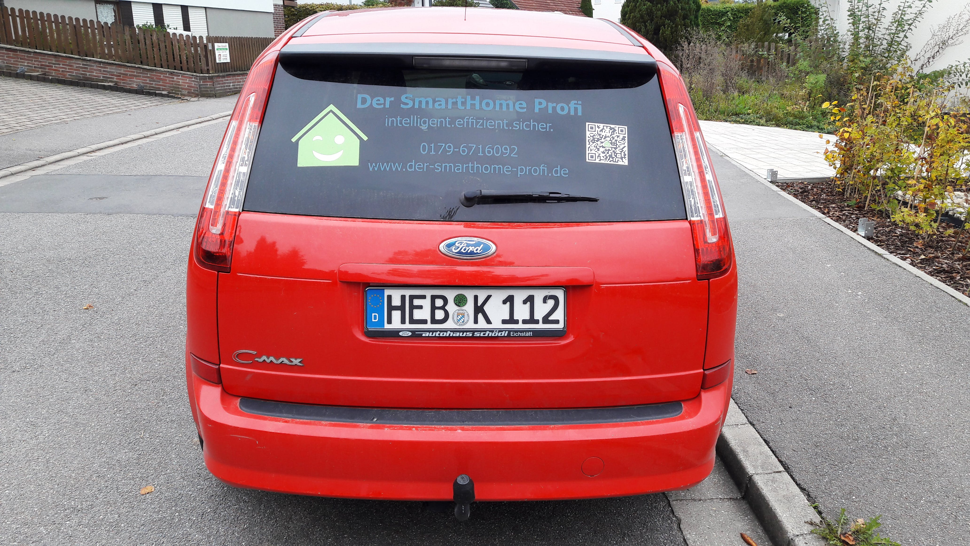 Ford C-Max mit CD-Player