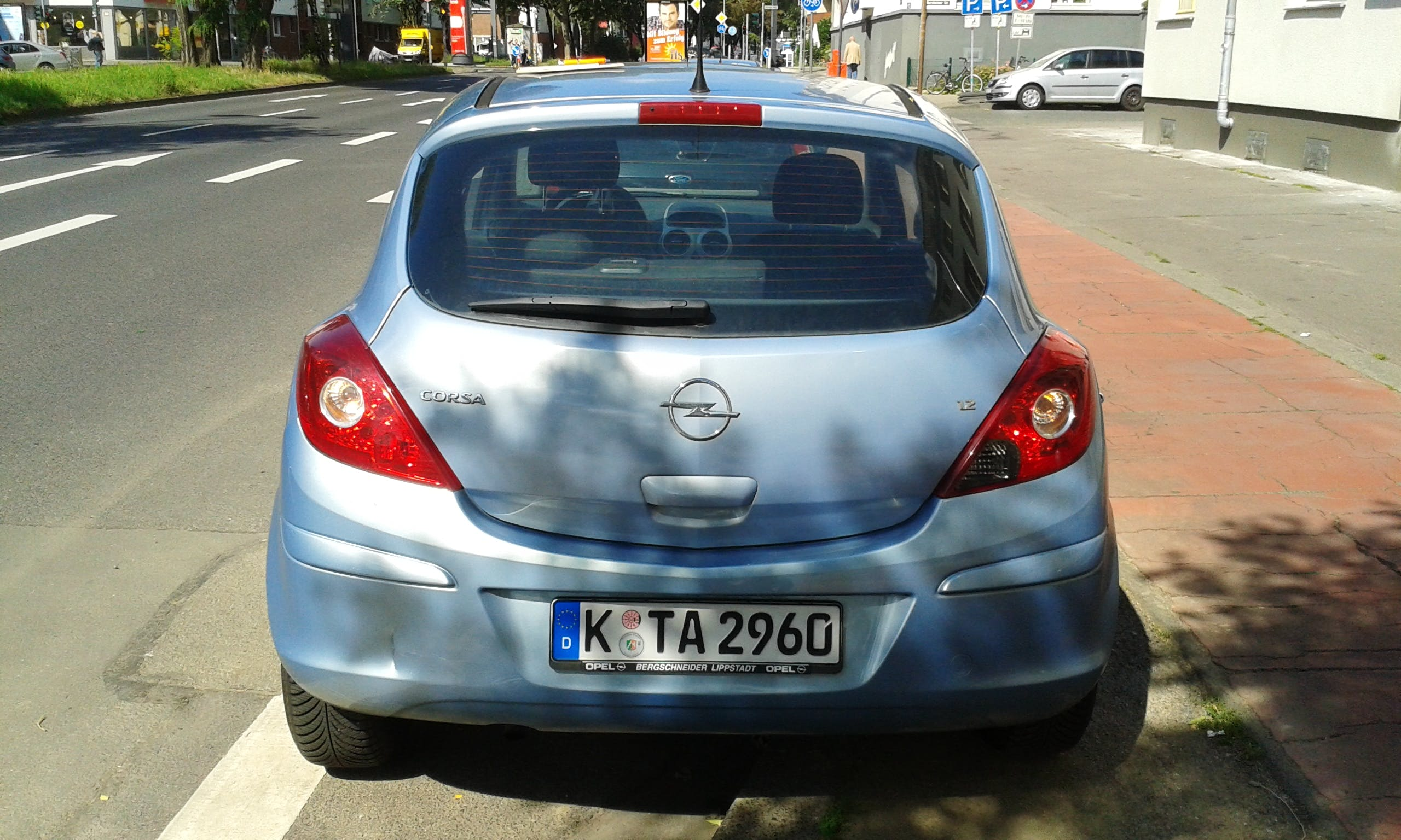 Opel Corsa D mit CD-Player