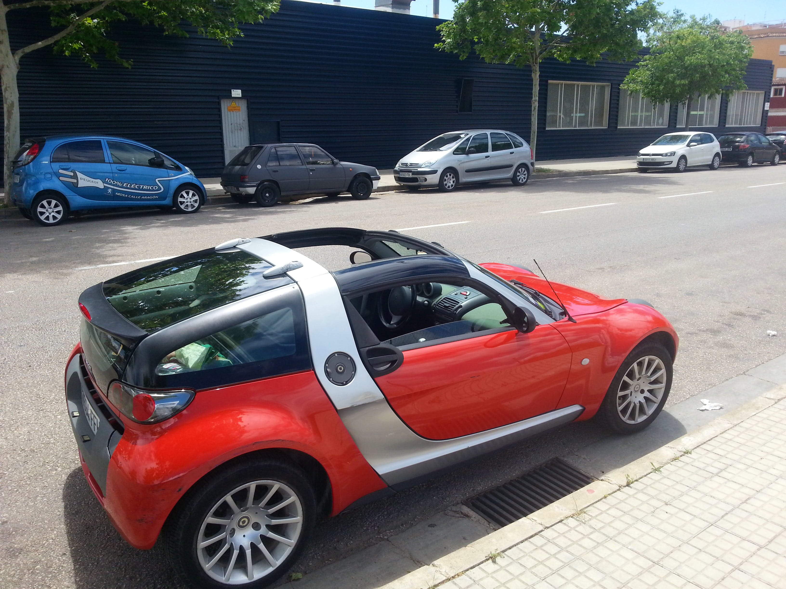 smart roadster coupe con Reproductor de CD