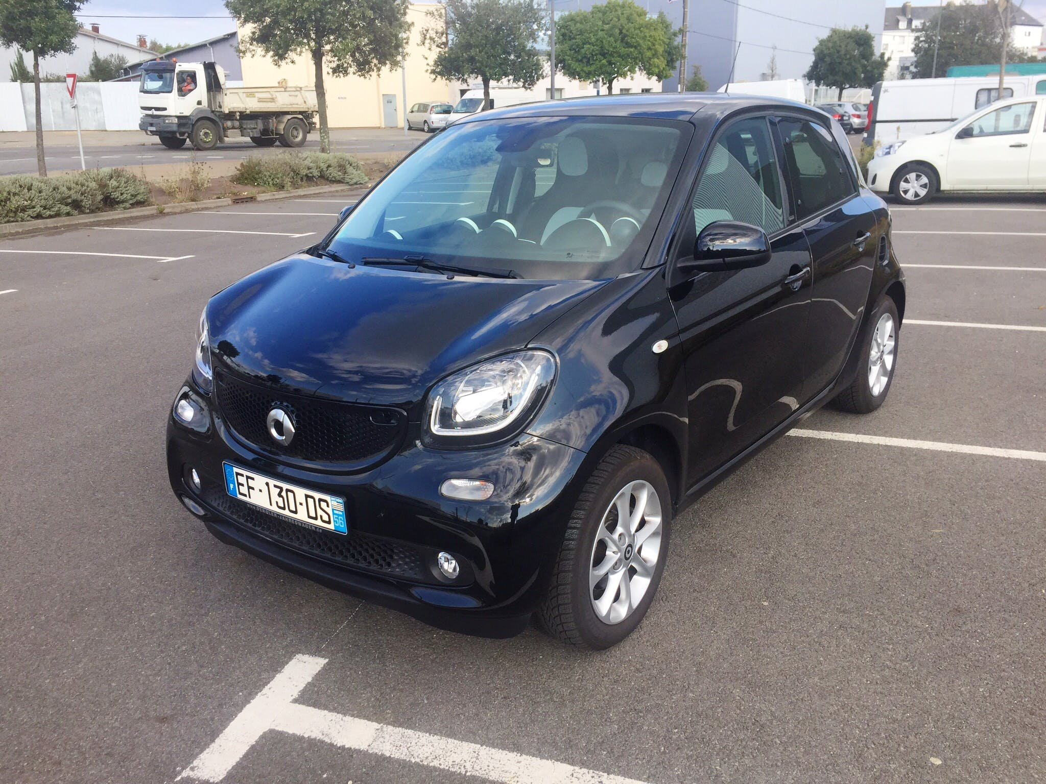 Smart Forfour, 2015, Essence, automatique