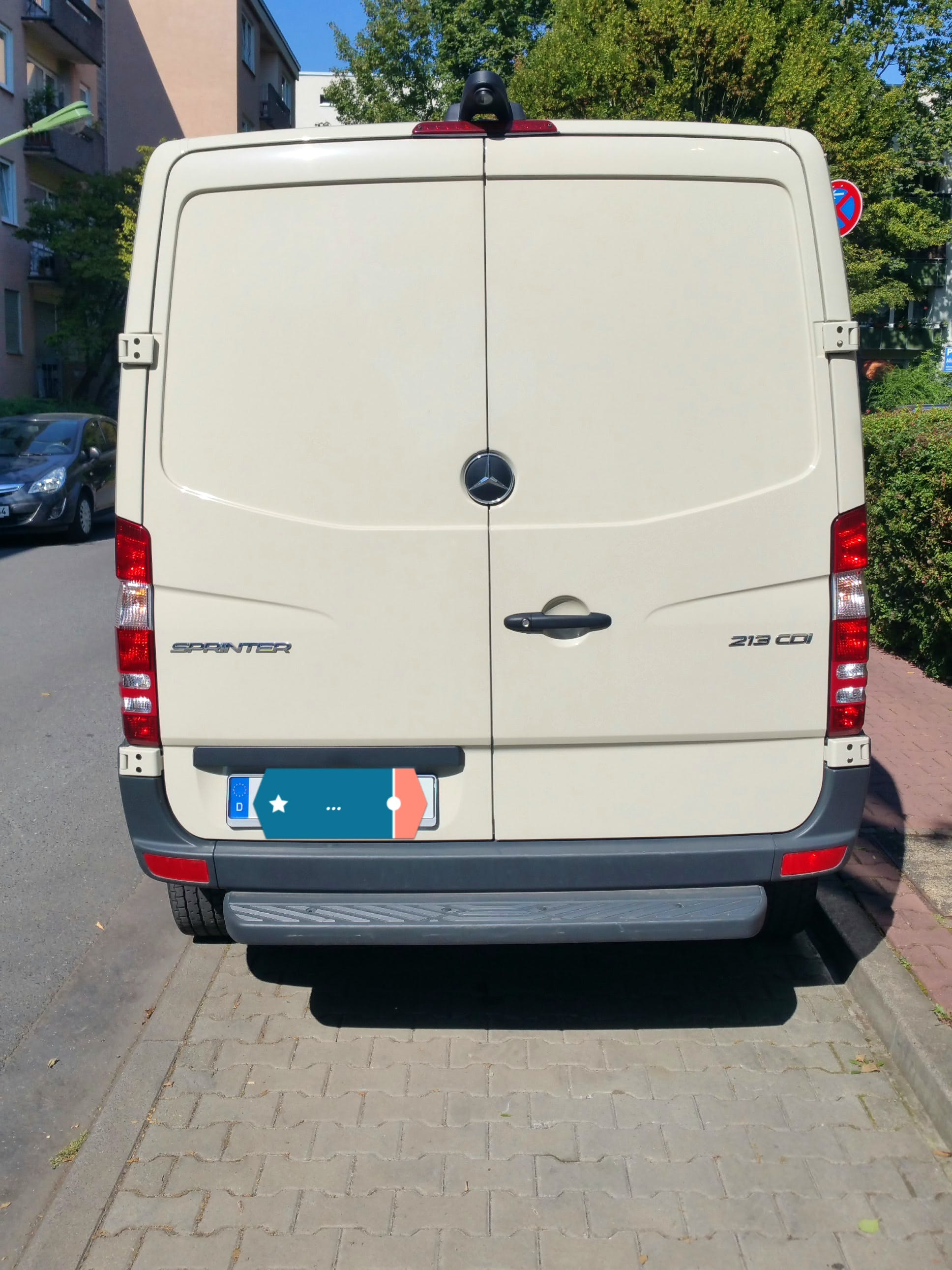 Mercedes-Benz Sprinter mit Winterreifen