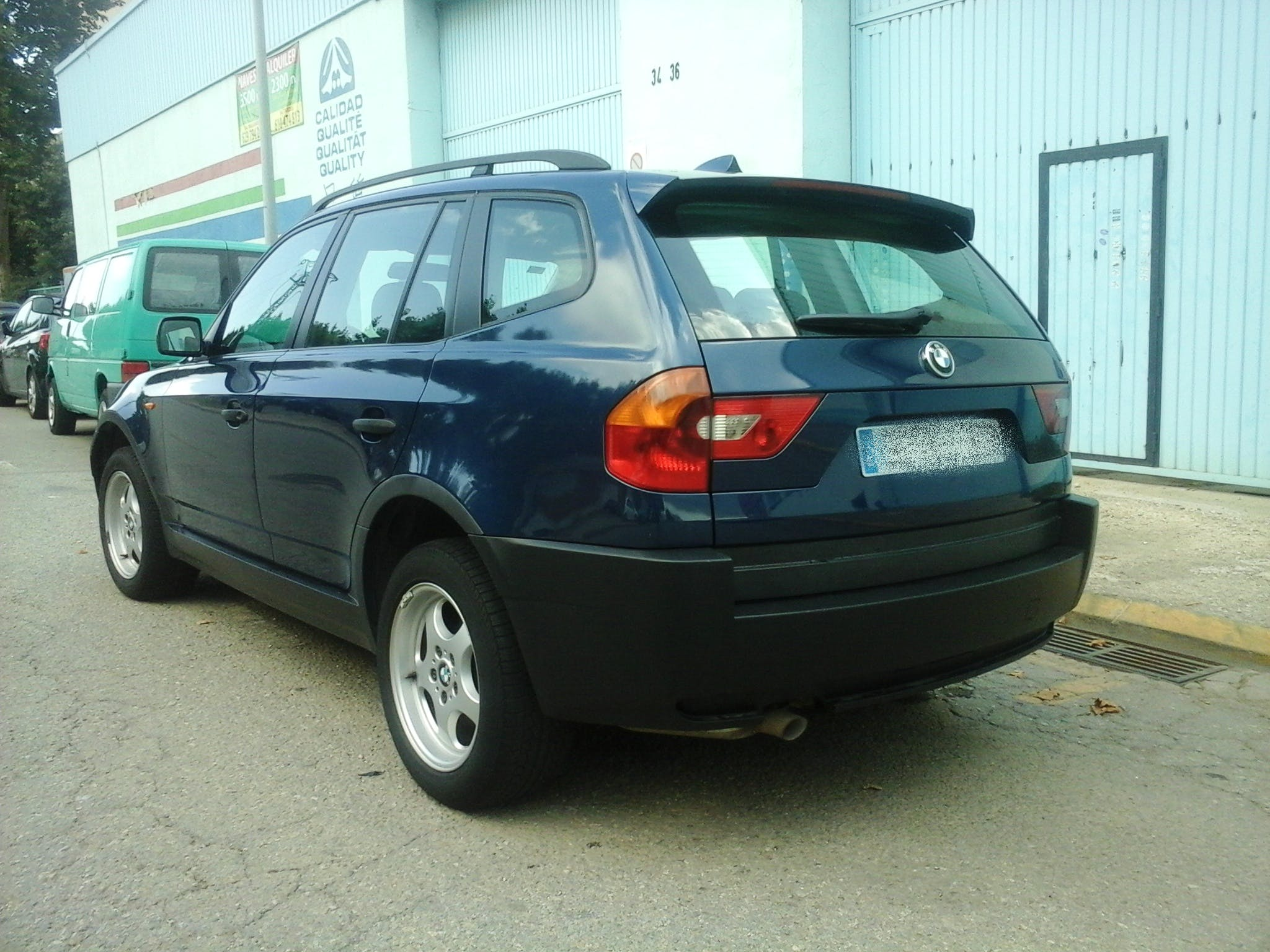BMW X3 2.0D con Reproductor de CD