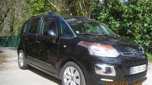 Citroen C3 Picasso EXCLUSIVE, 2014, Diesel, automatique