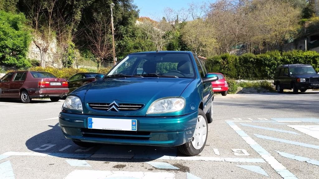 CITROEN SAXO 1.1 Exclusive, 2002, Essence - Citadine Nice (06)