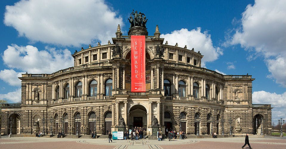 Die Semperoper, Dresden
