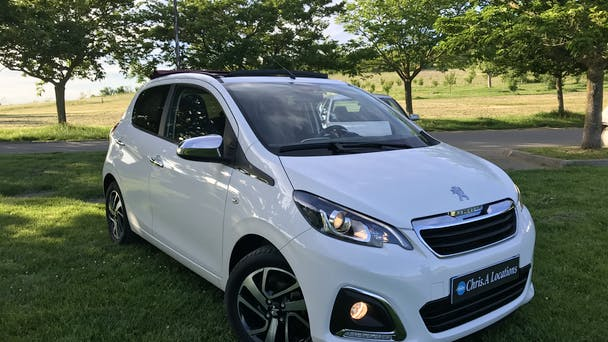 Peugeot 108 USB Bluetooth (ALLURE), 2014, Essence