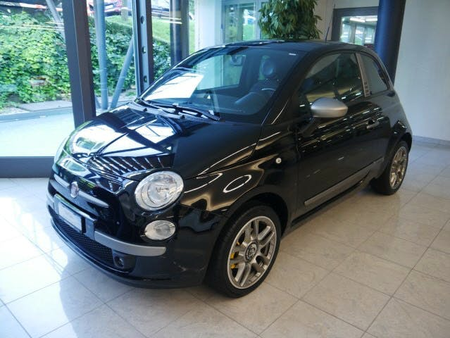Fiat 500 1.4 l 100 ch essence, 2010, Essence, automatique