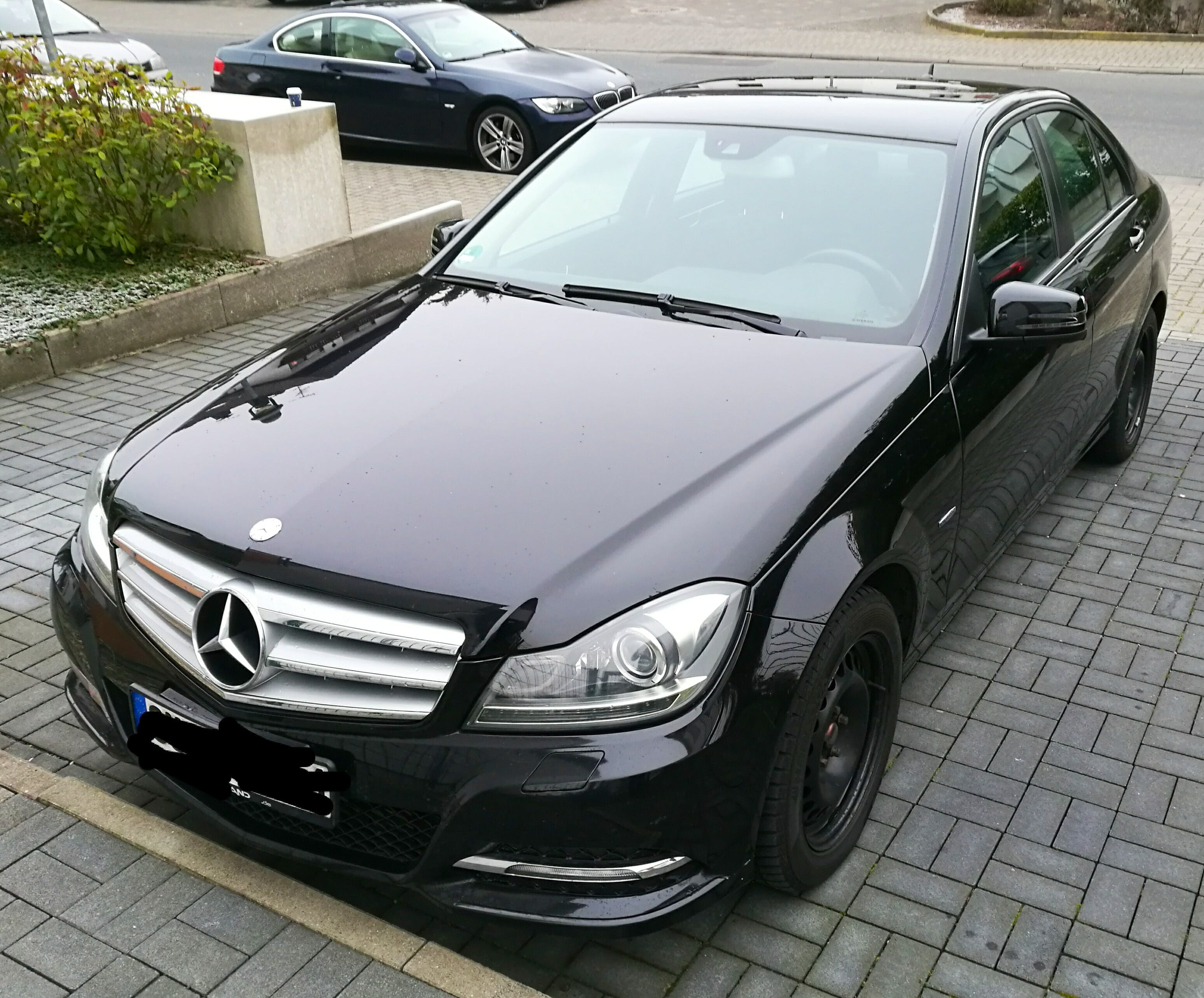 Mercedes C-Klasse 200 TDI mit CD-Player