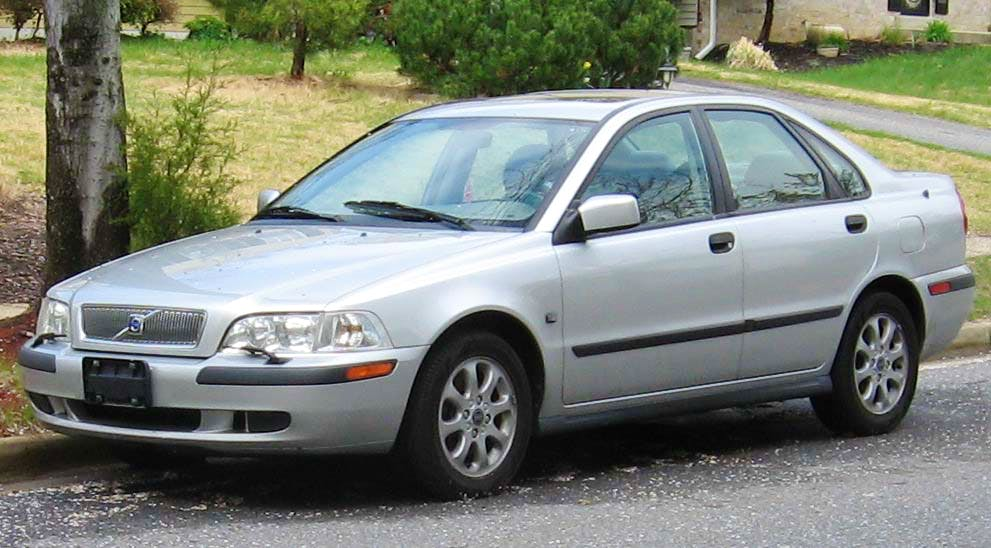 volvo S40 1800,sport car berlina, 2001, Gasolina