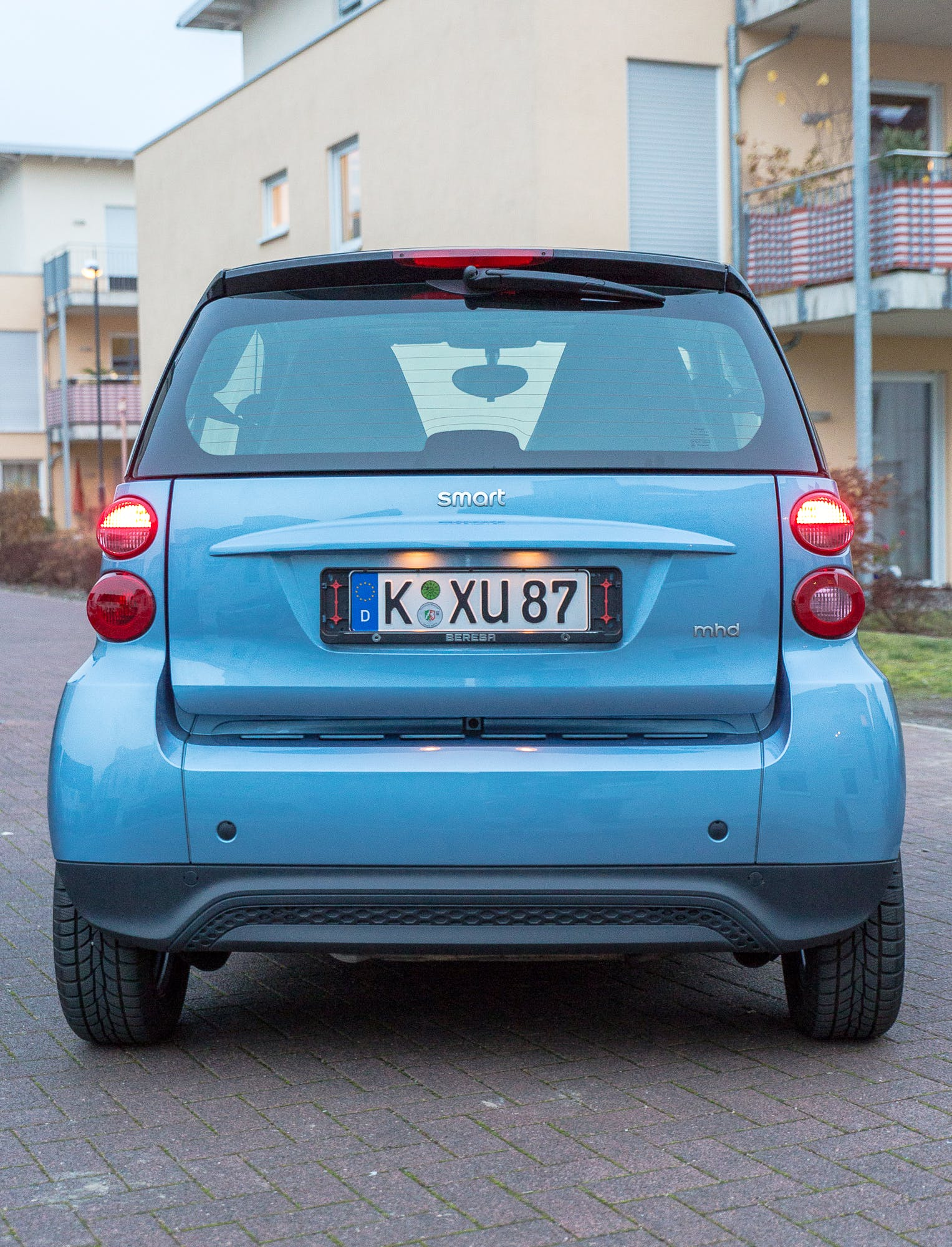 Smart Fortwo Coupé mit Winterreifen