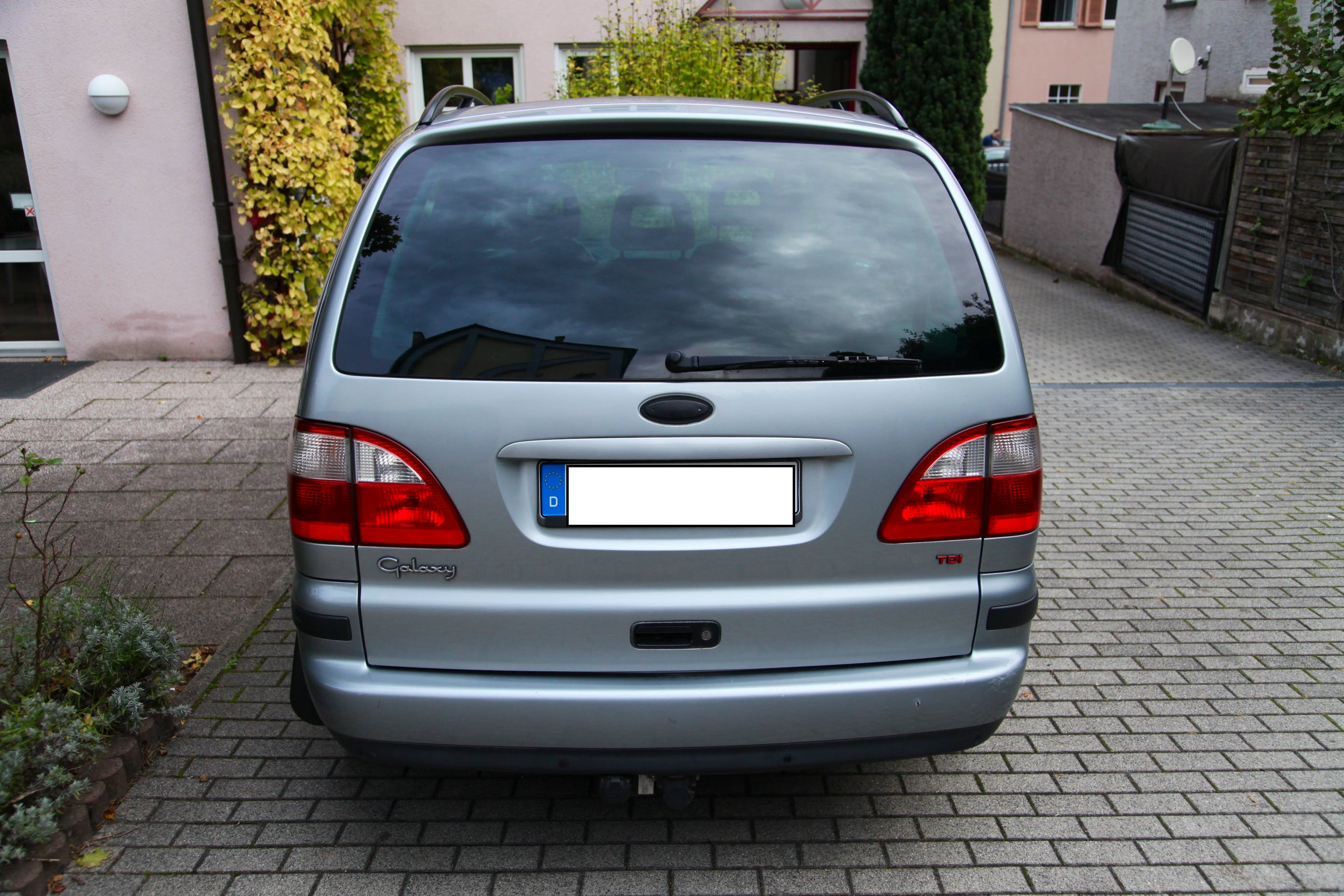 Ford Galaxy 1.9 TDI mit Kindersitz