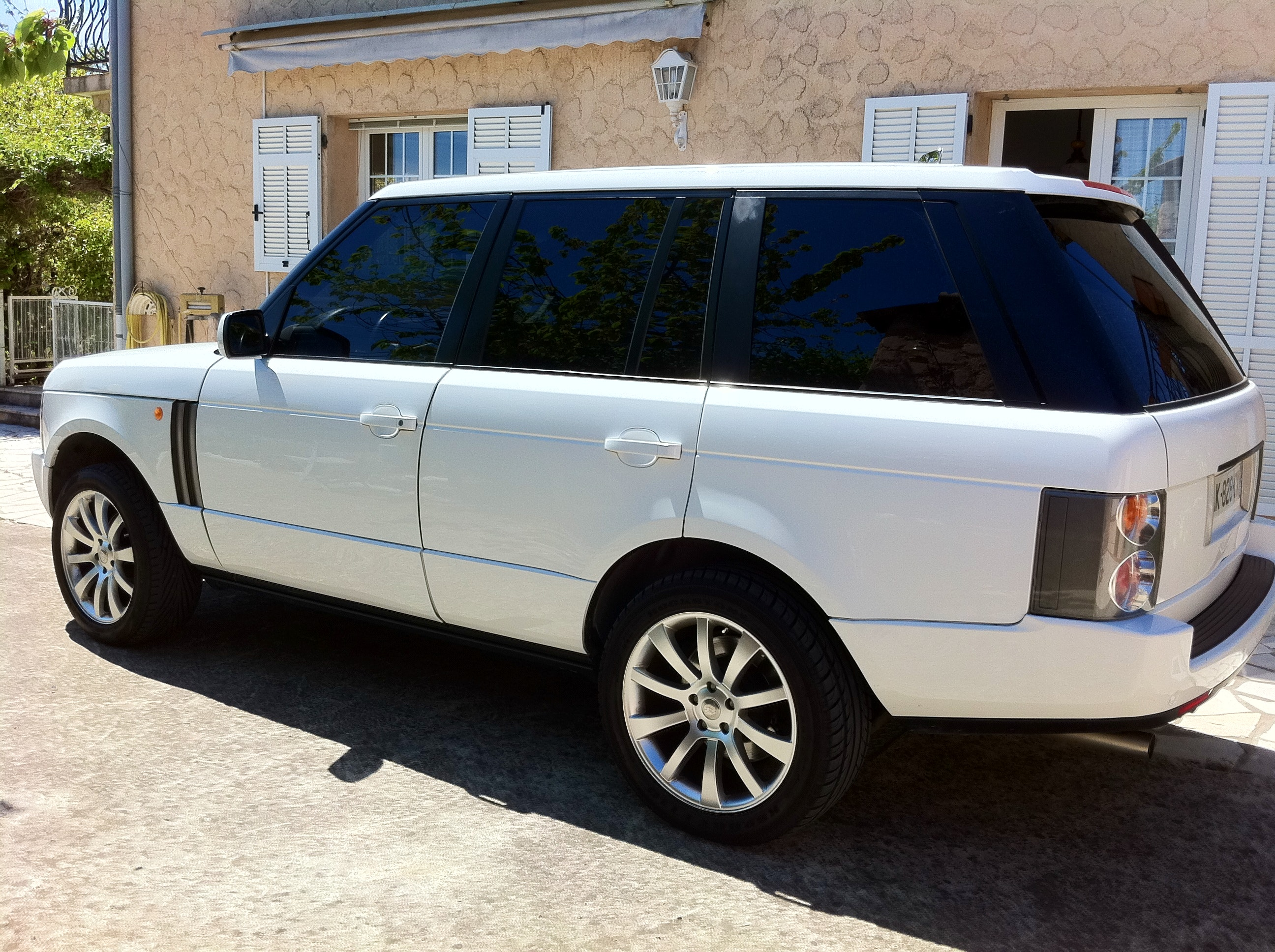 Land rover Range Rover, 2002, Essence, automatique
