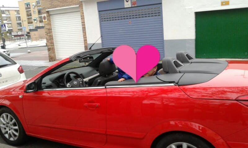 opel  Astra Twintop enjoy con Reproductor de CD