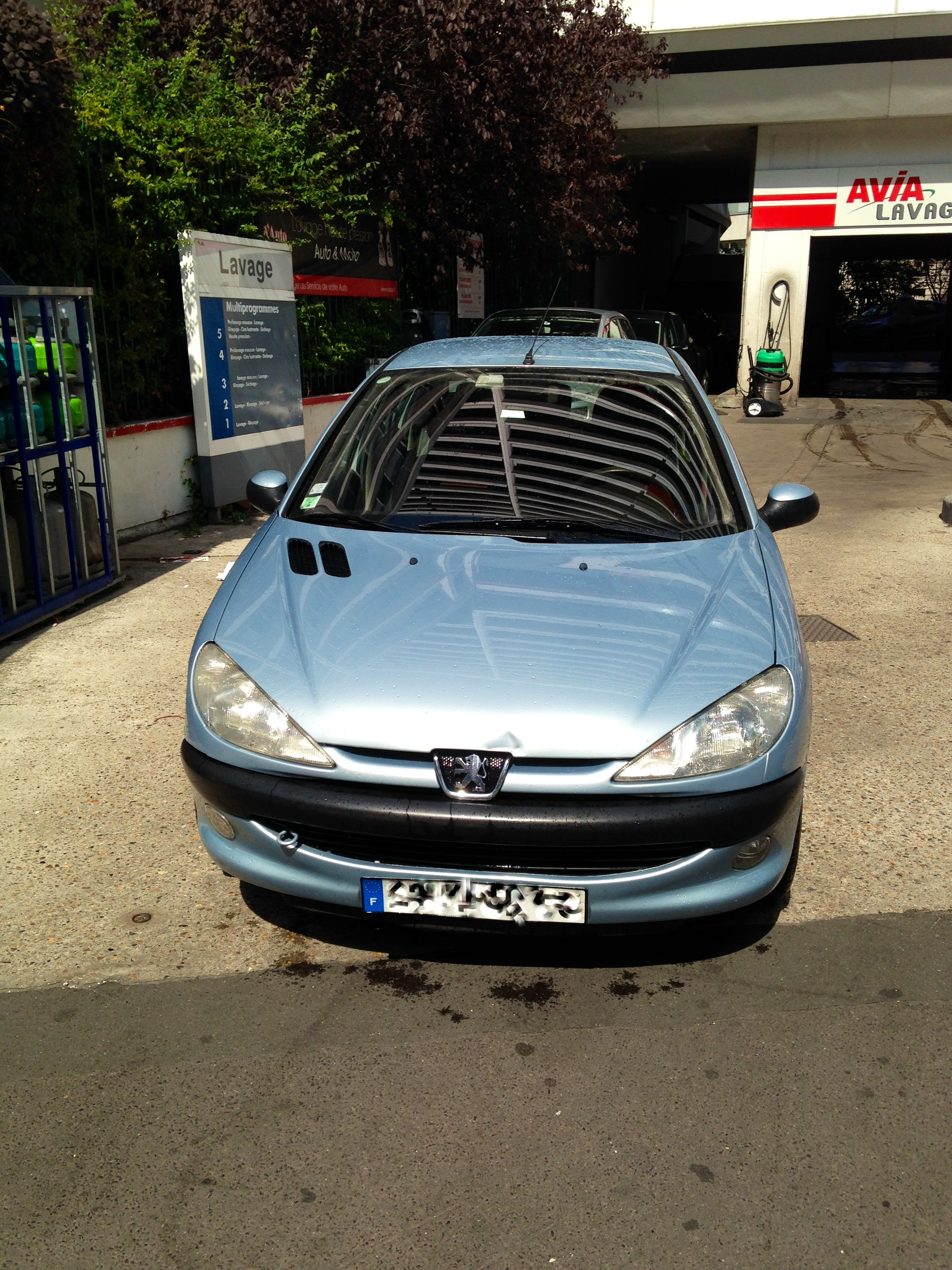 PEUGEOT 206 , 2002, Essence, automatique