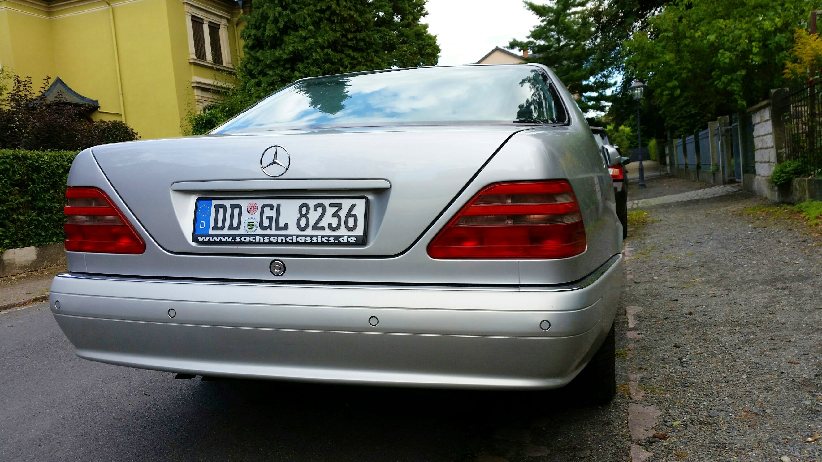 Mercedes Benz  CL 500 mit CD-Player