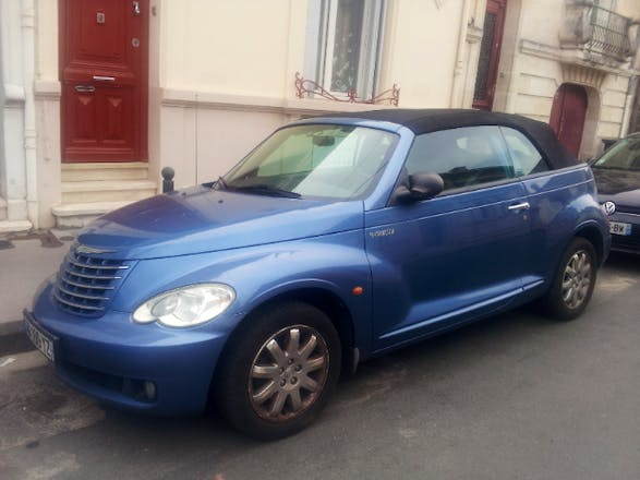 location chrysler pt cruiser cabriolet 2006 bordeaux 5 rue jean et charles pannetier. Black Bedroom Furniture Sets. Home Design Ideas