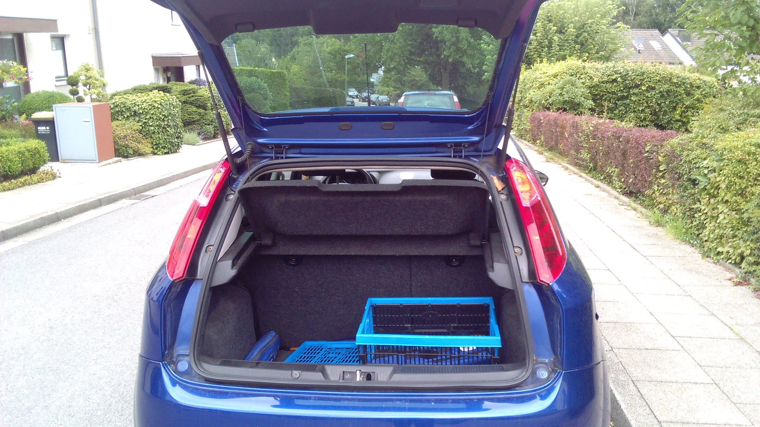 Fiat Grande Punto mit CD-Player