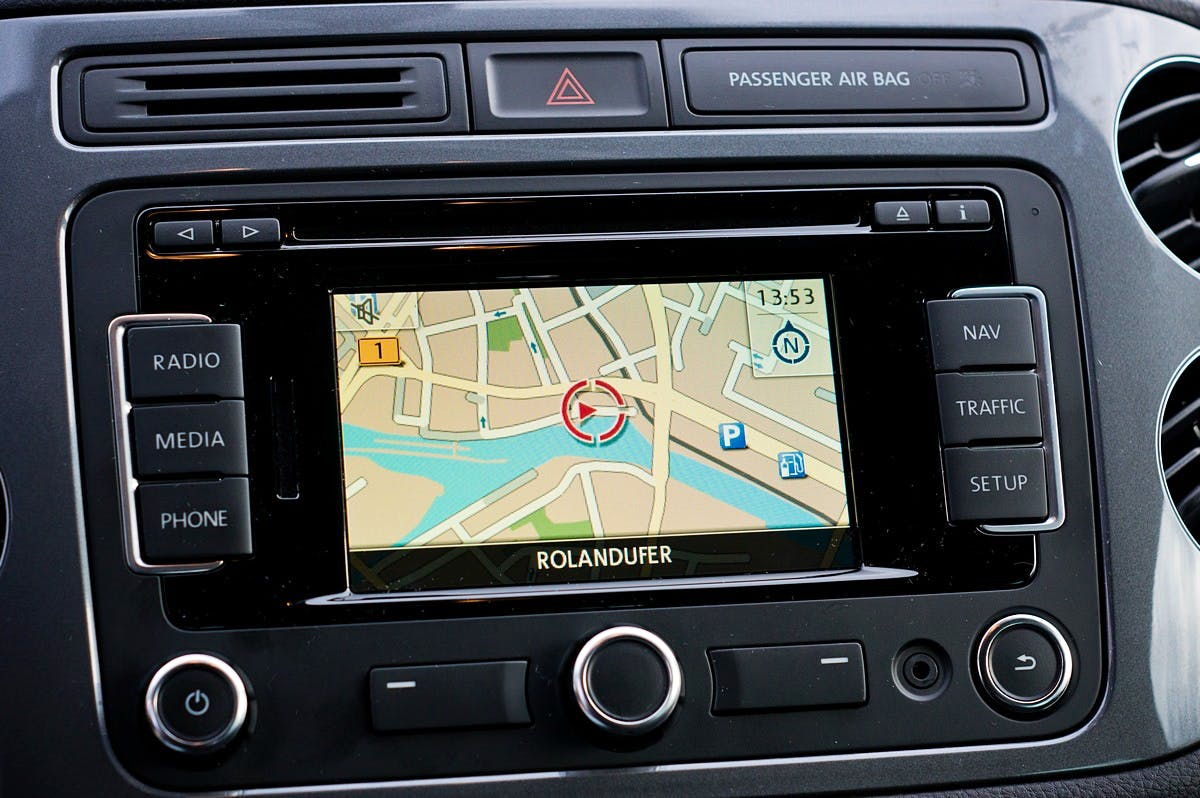 Volkswagen Tiguan mit CD-Player