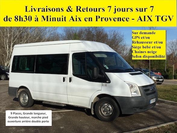 location minibus ford transit kombi 2007 diesel 9 places aix en provence d9. Black Bedroom Furniture Sets. Home Design Ideas