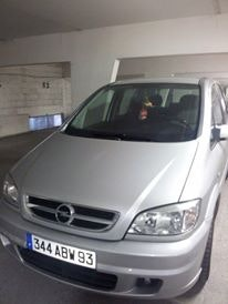 Opel Zafira Design édition 2.2, 2004, Diesel, 7 places