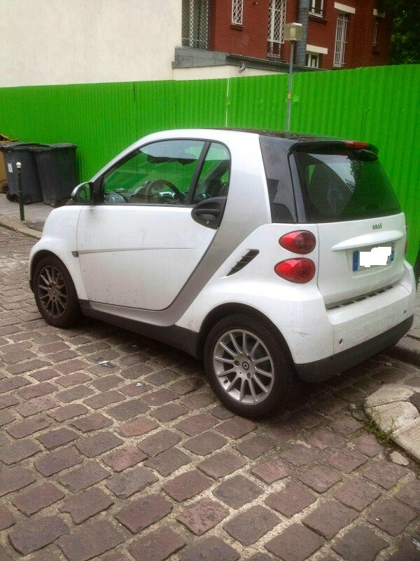 Smart FORTWO, 2008, Essence, automatique