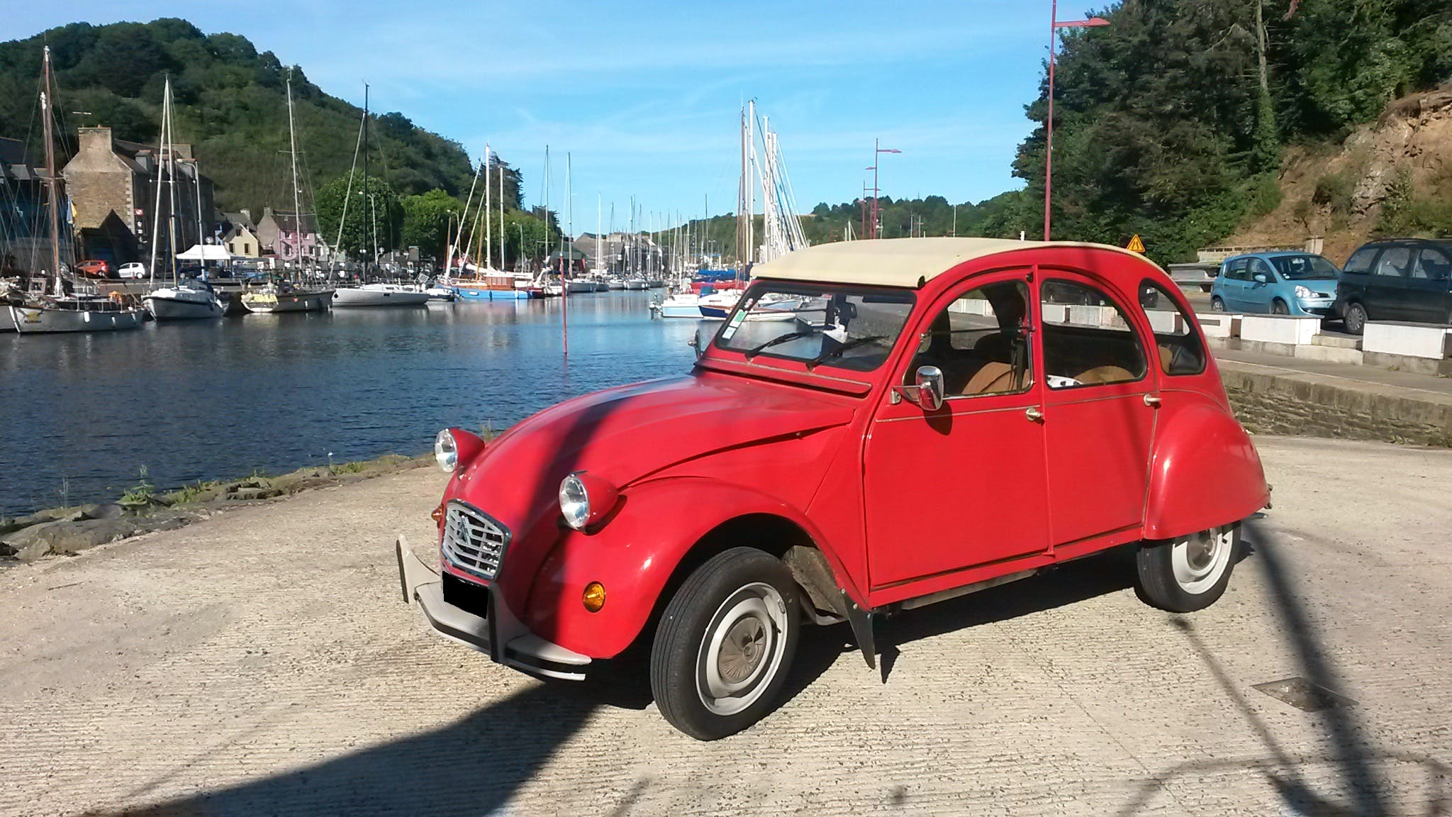 location citroen 2cv 1986  u00e0 saint brieuc  1 place fran u00e7ois mitterrand