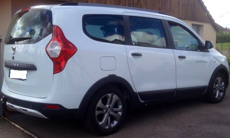 Dacia Lodgy, 2017, Diesel, 7 places