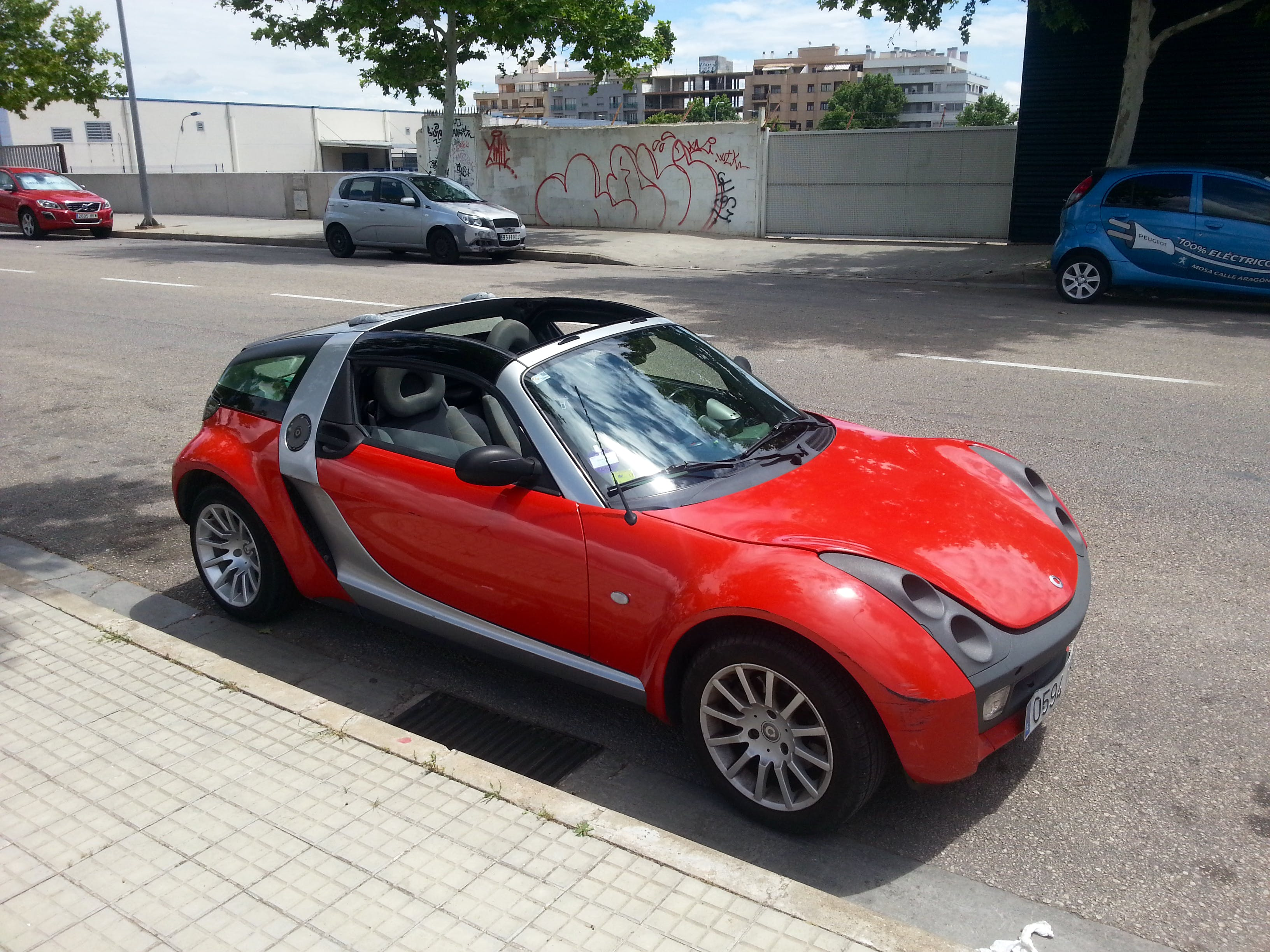 smart roadster coupe, 2008, Gasolina, Automático