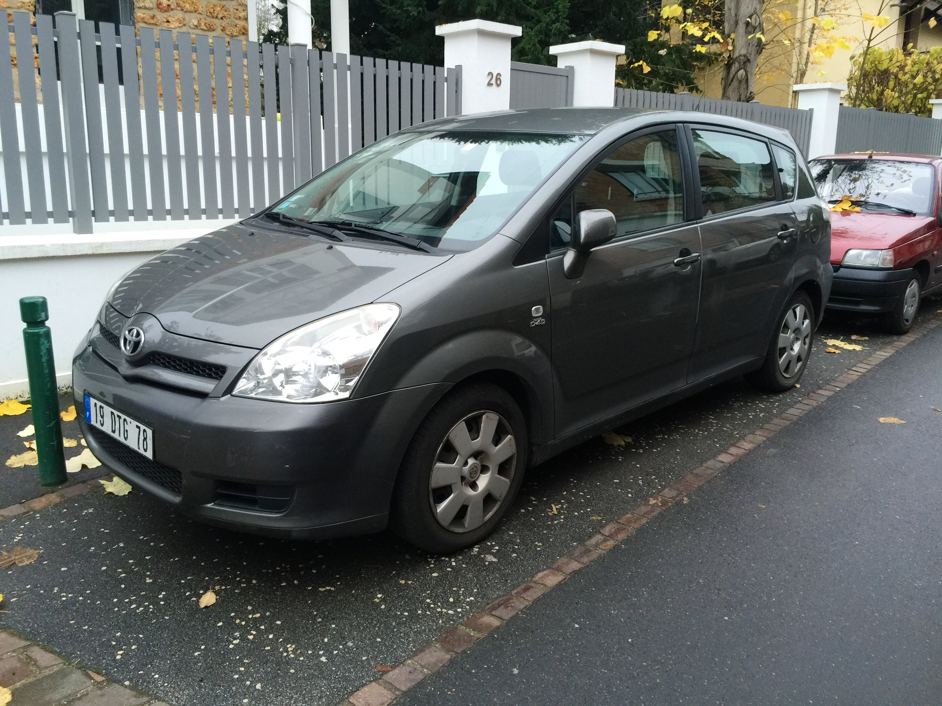 Toyota Corolla Verso 2.0 d4d 110ch, 2005, Diesel, 7 places